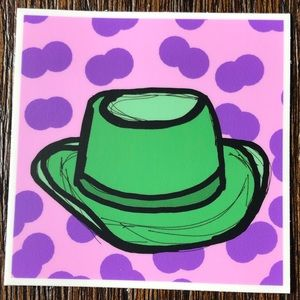 Green Hat By Jonanthony